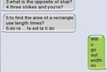 Woah texts