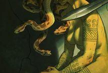 gorgo/kígyók