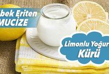 Göbek Eriten Mucize: Limonlu Yoğurt Kürü-Kadın Ne Der