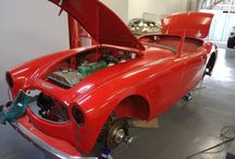 1956 Austin Healey. PD Weyers. South Africa / Austin Healey Restorations.