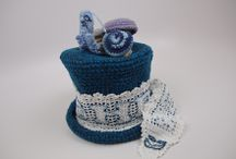 Mad Hatter Hats crochet / Mad Hatter Crochet Challenge 2014 / by Andrea Snow Aberle