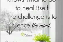 SILENCE / It's what we need sometimes