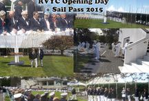Opening Day RVYC Sail Pass / I was first boat to follow the CFSA Orial schooner