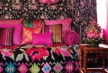 BOHEMIAN Interiors/Decor / by winifred Andre