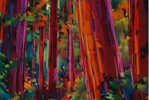 Kunst - vakre farger!