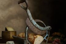 Lew Robertson - Food Photographer / Lew Robertson is an American food photographer with a interesting style making great use to diptychs and props. his series 'tastefully twisted' utilises vintage kitchen equipment in combination with low key lighting to great interesting images reminiscent or the dutch painters in 17th and 18th century.