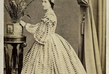 19th C - CDV+ - Woman - Full Length / Currently under construction to smaller boards  / by Antina Richards-Pennock
