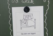 School: spreekwoorden/gezegdes