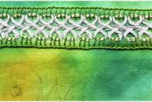 Embroidered  Borders and Edgings