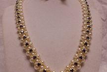 collares en perlas