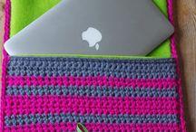 Crochet - Lap top case