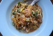 Myanmar salad (Athoke)