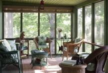 Eureka Springs weekend home. / Interior design