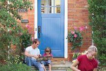 Front Door Inspiration / by Lynn Minter