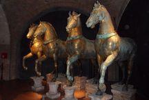 Cavalli di San Marco a Venezia / Cavalli di San Marco a Venezia. IV secolo a. C.