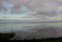 Lookin' out my back door / Views of the Pamlico Sound from Frisco, NC