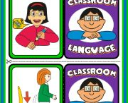 CLASSROOM LANGUAGE (ENGLISH TEACHING RESOURCES) / This pack costs 3 euros and it contains:  - 18 posters; - 1 memory game (18 picture cards + 18 word cards); - 1 matching game (18 picture cards + 18 word cards); - 1 set of dominoes; - 1 set of flashcards; - 18 colouring pages. - Easter bunting; - 1 picture dictionary; - 1 colouring book. Hope you enjoy the resources! HAVE FUN...!  For further information, please email me at: eslteachingresources@hotmail.com  RESOURCES AVAILABLE HERE: http://eslchallenge.weebly.com/classroom-language.html