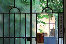doors - windows - details / inspirations - idées - le beau est une promesse de bonheur