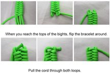 Paracord - knots / by Luca Settantanove