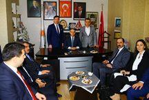 AK Parti Milletvekili Adaylarımız ile İlkadım İlçe Başkanlığı Ziyareti