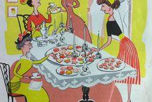 Vintage Cookbook Ephemera