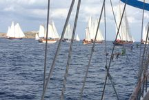 We love sailing / Camping  du Domaine is along the Mediterranean Sea.