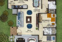Layouts de casas
