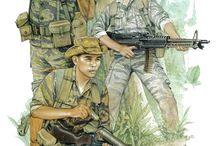 Military Figure Illustrations