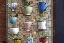 mosaic cup