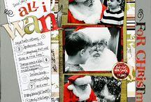 Scraping Christmas/winter / by Becki Schuft