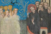 średniowieczne malowidła ścienne