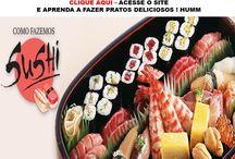 Receitas de Sushi como fazer
