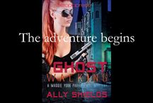 Ally Shields Maggie York Paranormal Mysteries / Maggie is a no-nonsense New Orleans homicide cop until a sniper's bullet changes her life. She coded in the ER, came back...but not quit the same. She sees things now, things that cannot exist.