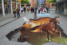 3D floor art