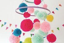 Pompones decoracion ideas
