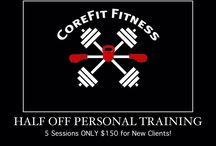 CoreFit Special Offers / Take advantage of one of our special offers!