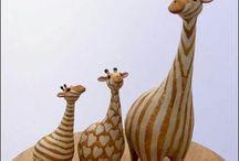 sculpture animaux