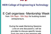 """E Cell organises """" Mentorship Week' from 10th Sept– 16th Sept"""
