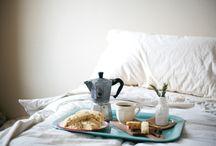 Breakfast in bed Ruth