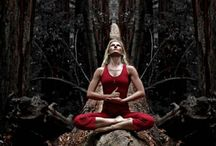 Yoga / Yoga is inspirational It's takes away tension from the body and mind It creates space within and without  Connects you to your Soul