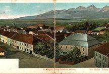 Vintage postcards / Postcards of places I love
