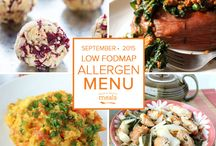 Allergen: Low FODMAP Freezer Menu September 2015 / by Once A Month Meals
