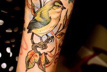 Vogel tattoo