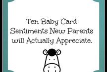 Baby cards / cards for new babies