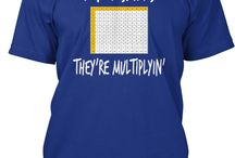 Math Bowl Shirts / by Nicole Zlamal Nigh