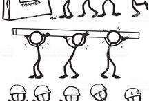 Figura humana: esquemas de movimiento