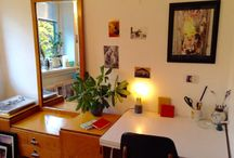 Creative space / A tiny part of any room where space is made for creativity..