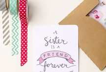 FREE printables / From wall art to cards find a free printable to use!