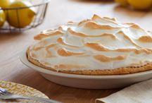 Пирог С Лимонным Безе