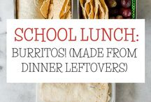 School Lunch Ideas / Ideas for school lunches. I enjoy packing school lunches....for the first month. After that, it is just another chore to be done. Always looking for new ideas.